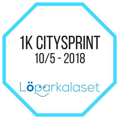 1 km citysprint Löparkalaset