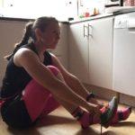 Jessica ledare i Sweden Runners