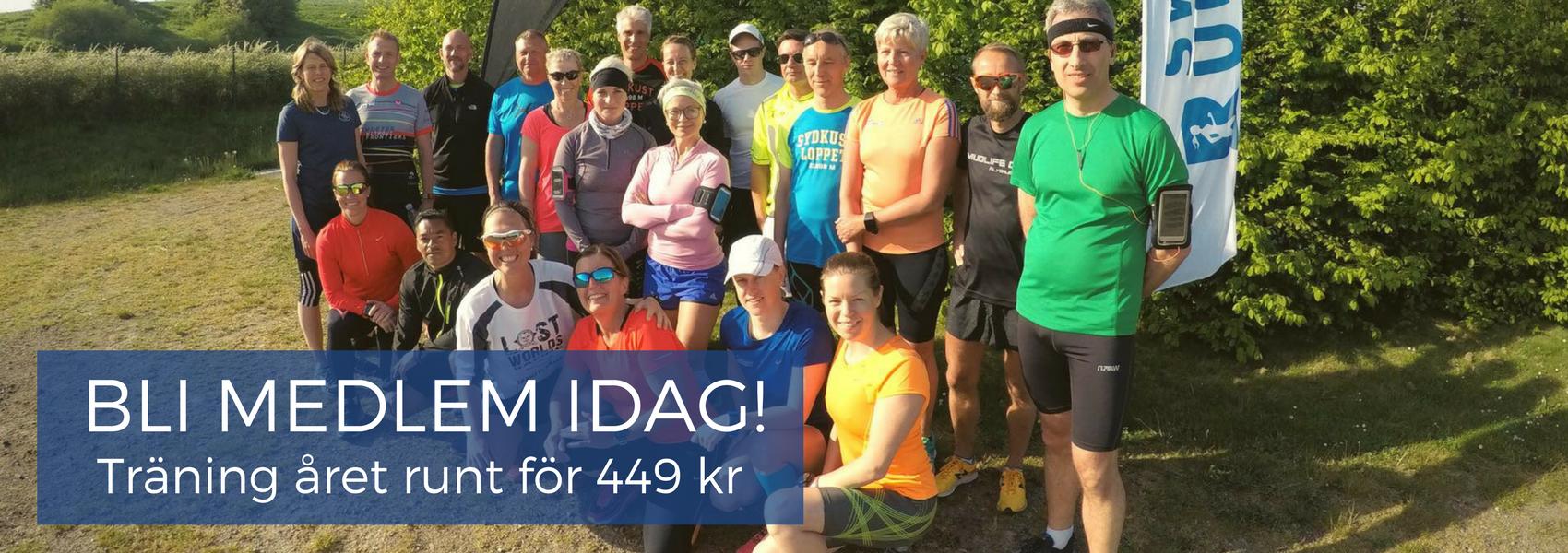 Bli medlem i Sweden Runners