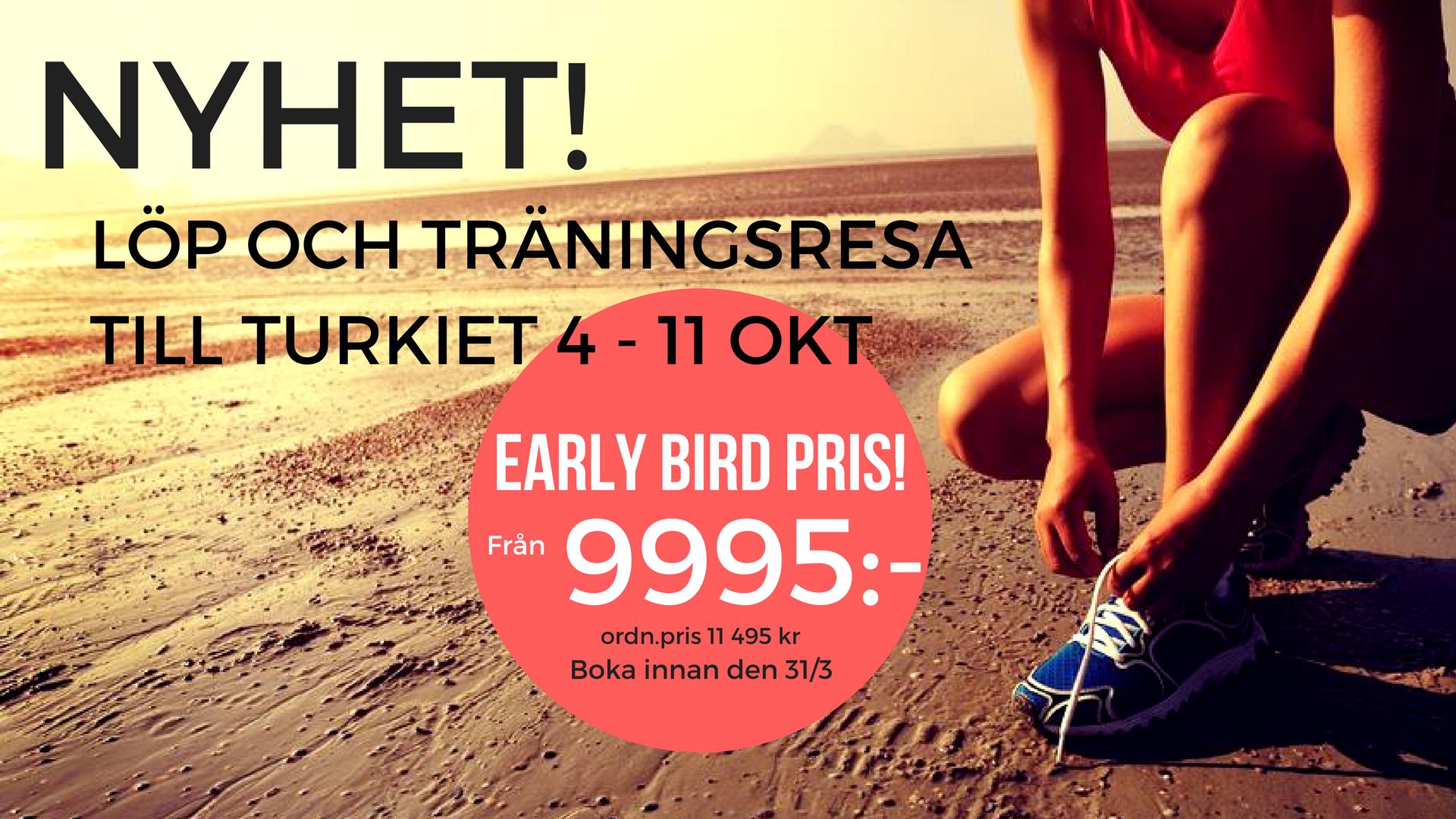 Löparläger träningsresa Sweden Runners