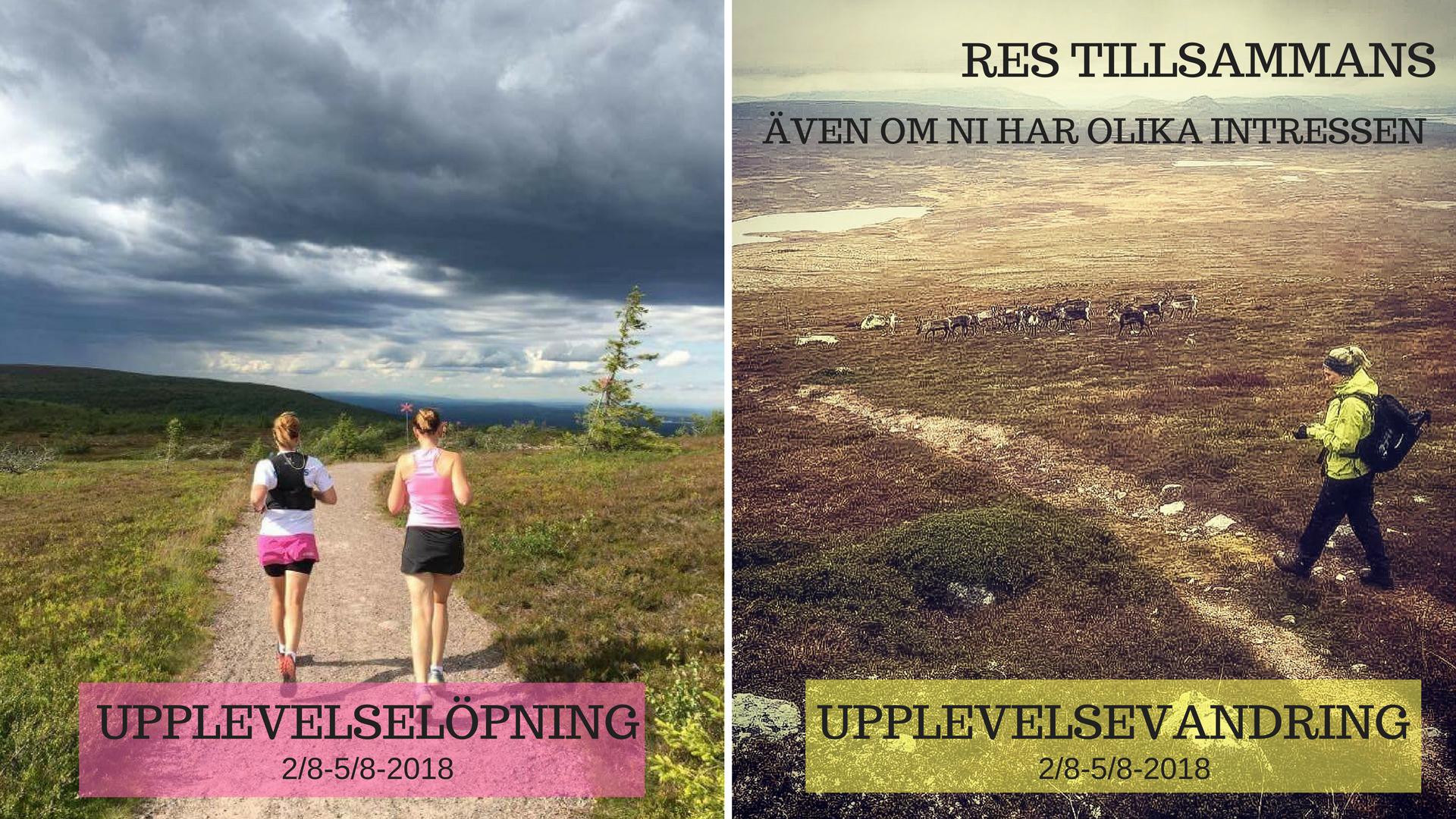 upplevelse löpning Sweden Runners Vandring Sweden Outdoors