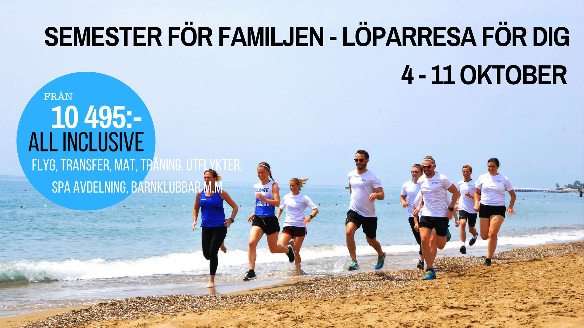 Sweden Runners Träningsresa