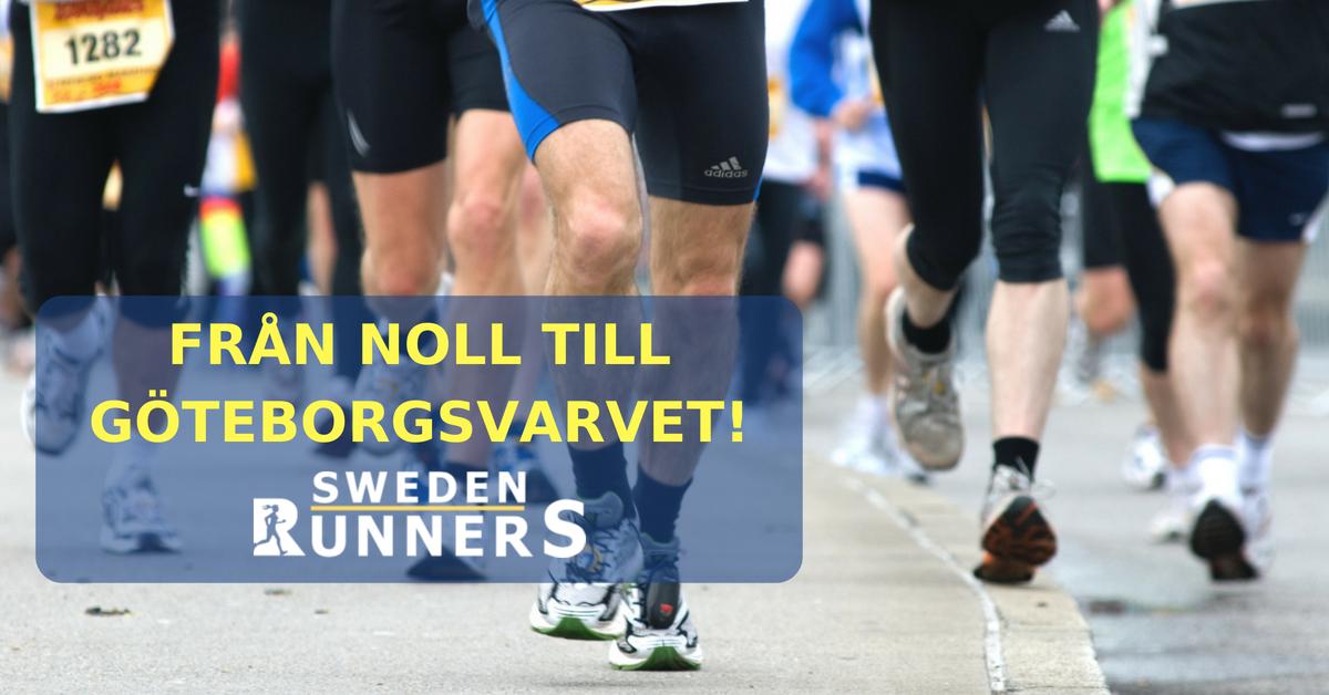 Från noll till Göteborgsvarvet Sweden Runners