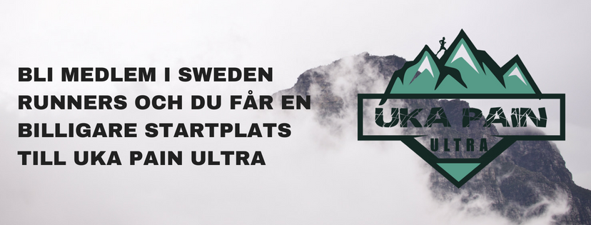 Medlem uka pain ultra Sweden Runners