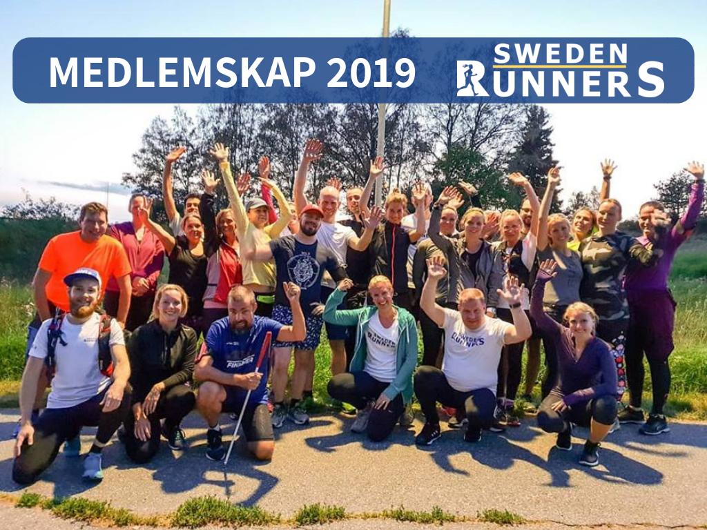 Sweden Runners medlemskap 2019