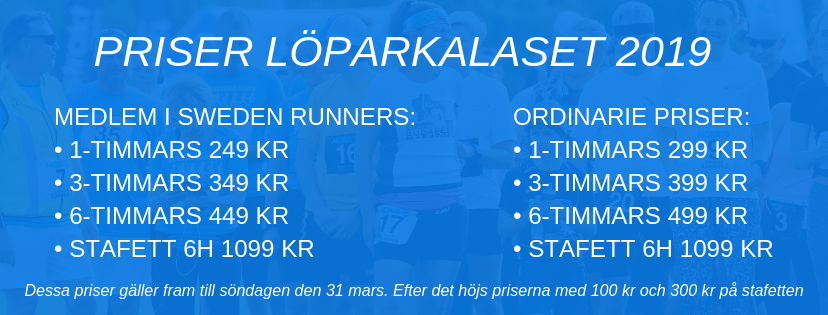 Sweden Runners Löparkalaset