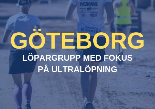 Göteborg Ultralöpning Löpargrupp Sweden Runners