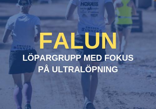 Falun Sweden Runners Löpargrupp Ultralöpning