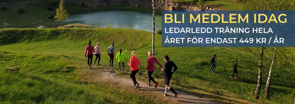 Sweden Runners Löpträning Medlemskap Löpargrupp