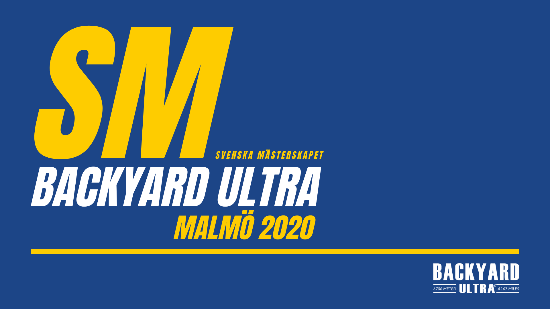 Sweden Runners Backyard Ultra Svenska Mästerskapet