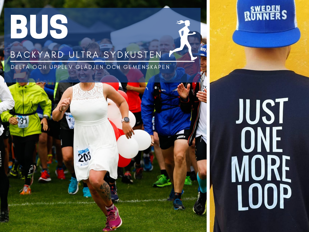 Backyard Ultra Sydkusten Sween Runners