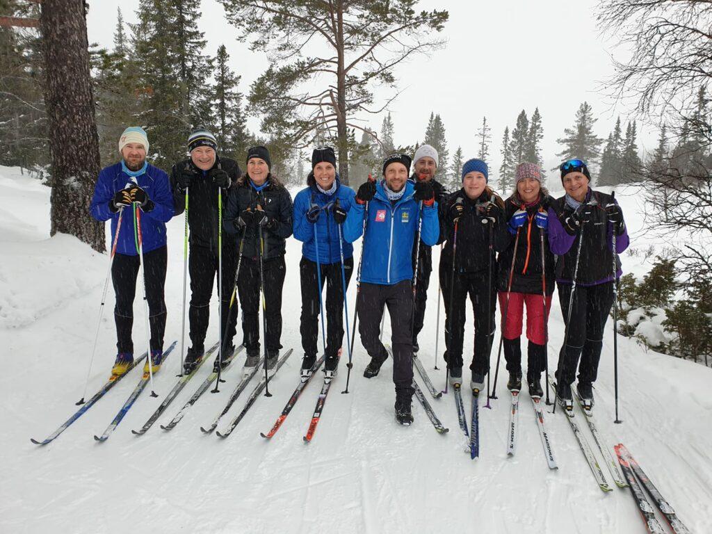Längdskidläger Sweden Runners Grövelsjön