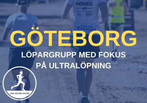 Sweden Runners Göteborg ultra löpargrupp