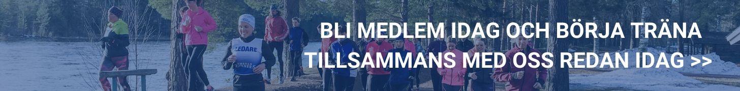 Bli medlem träna med sweden runners