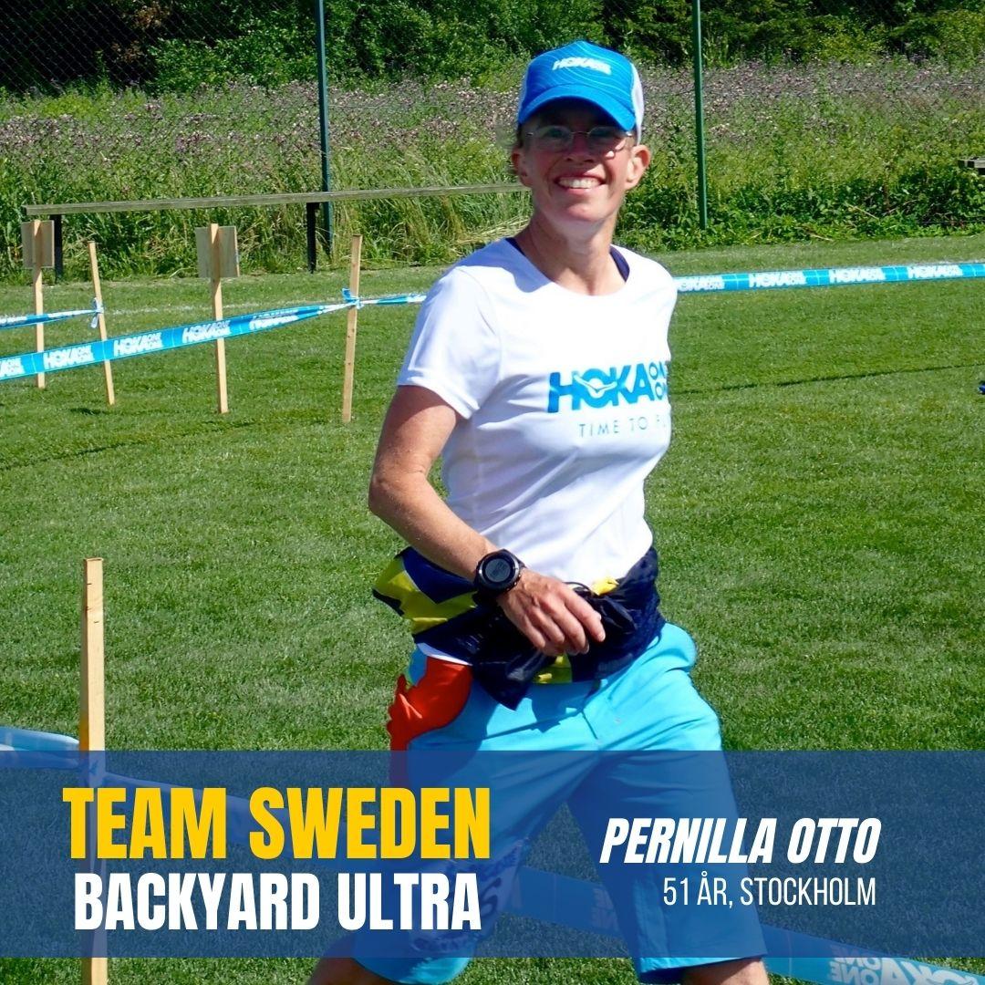 Sweden Runners Pernilla Otto