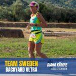 Team Sweden Diana Kämpe Sweden Runners