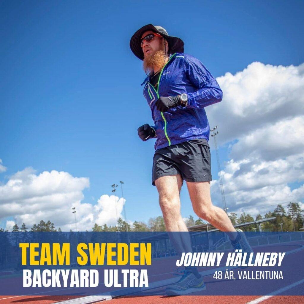 Team Sweden Johnny Hällneby Sweden Runners