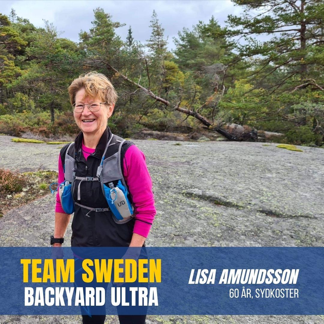 Team Sweden Lisa Amundsson Sweden Runners