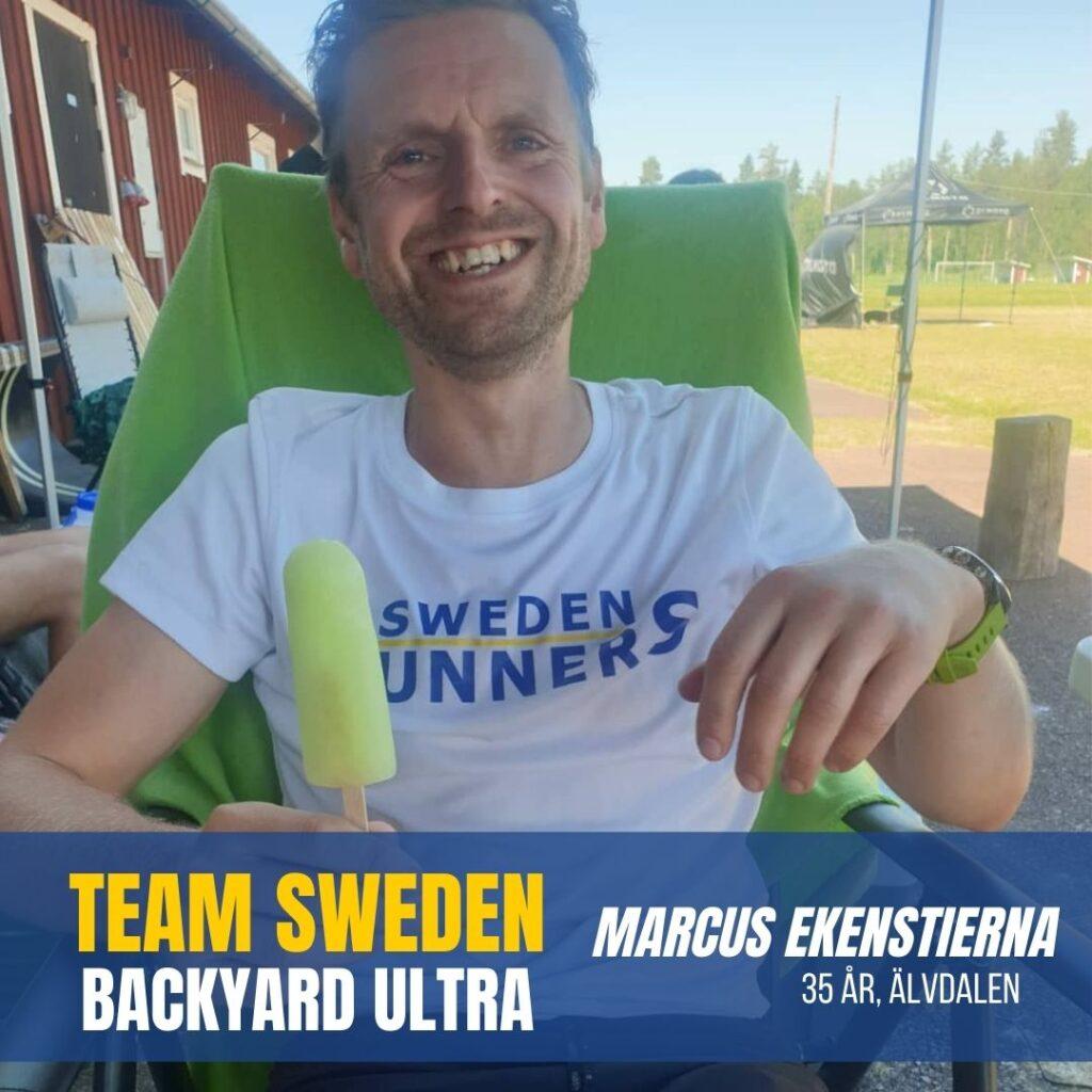 Team Sweden Marcus Ekenstierna Sweden Runners