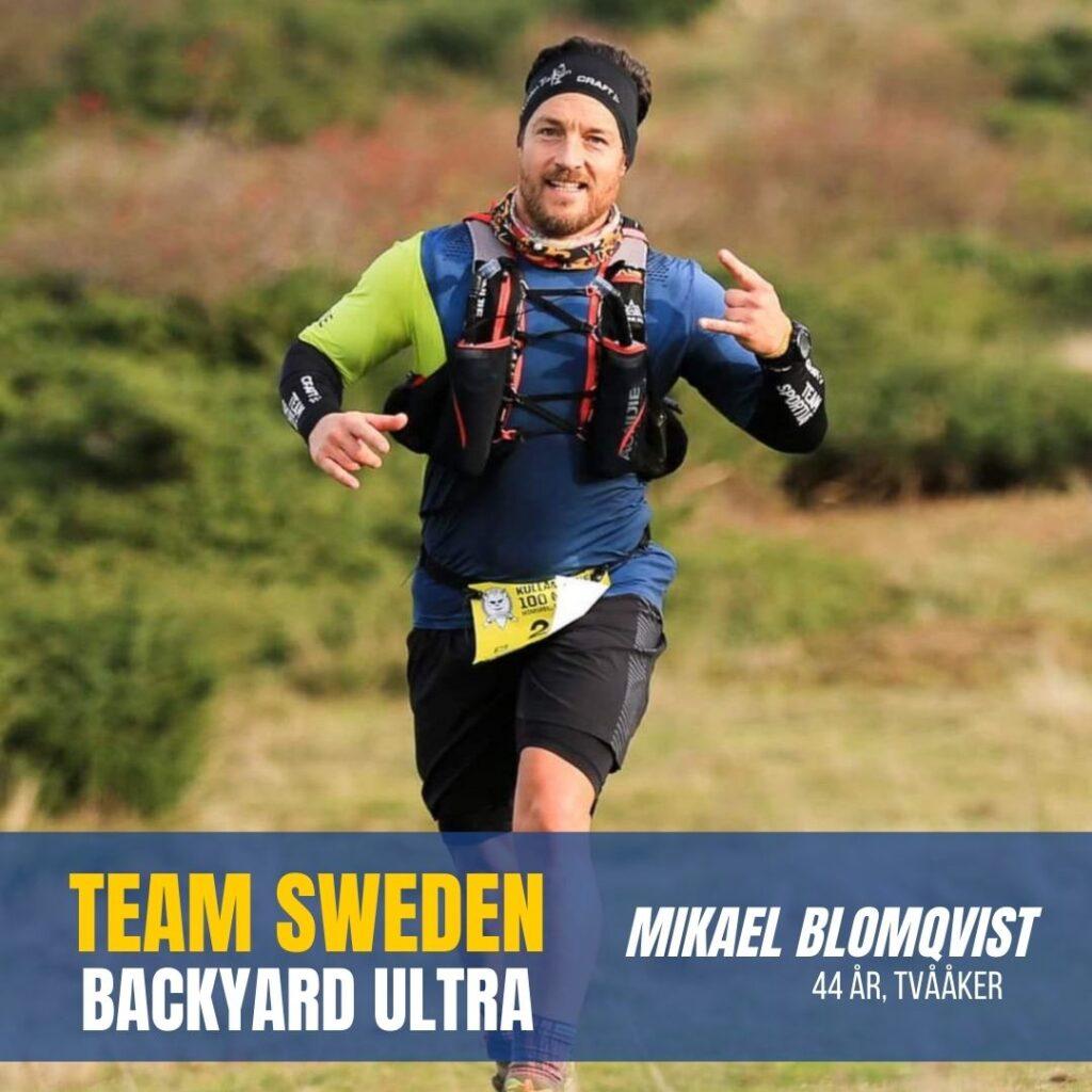 Team Sweden Backyard Ultra Sweden Runners