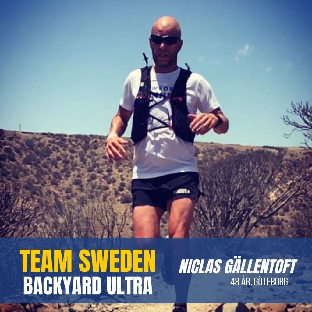 Sweden Runners Niclas Backyard Ultra
