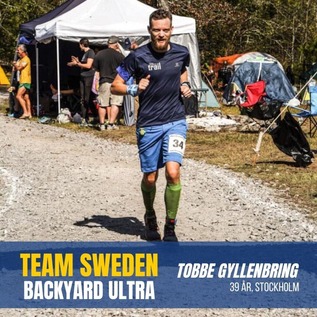 Tobbe Gyllenbring Team Sweden Sweden Runners
