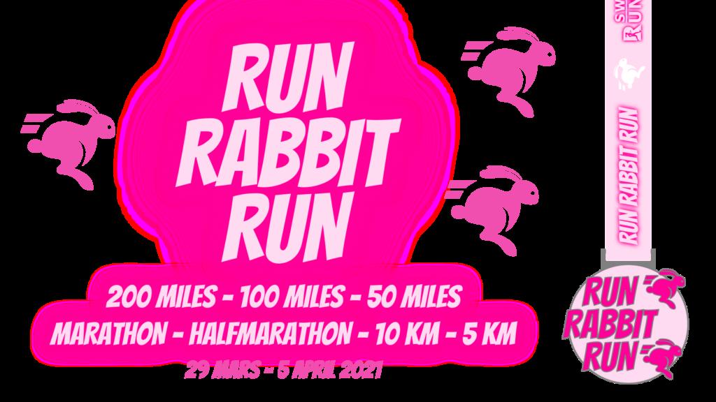 Sweden Runners utmaningen Run Rabbit Run